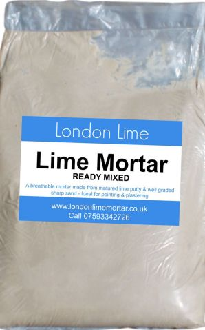 Lime Mortar - Ready Mixed | London Lime